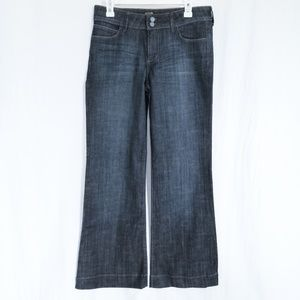 Kut From The Kloth Wide Leg Dark Wash Jeans